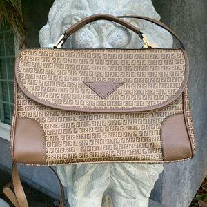 🔥 Vintage Fendi Roma crossbody satchel 🔥